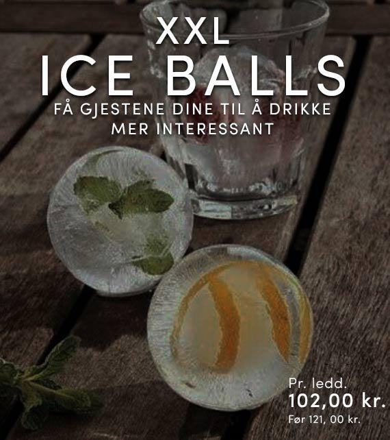 ICE BALLS XXL Ø7CM