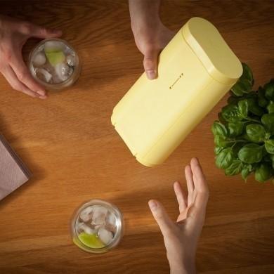Flot isterningbakke i gul fra Icebreaker